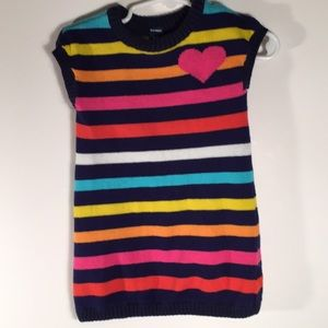 Old Navy Sweater Dress toddler 28-24 Months Stripe